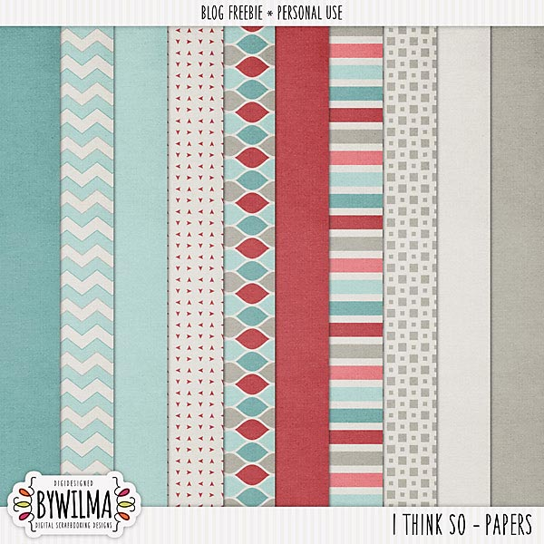 Freebie_IThinkSo_byWilma_Papers