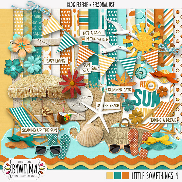 Digiscrap freebie Little Somethings 4 byWilma